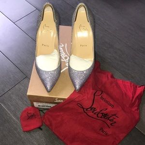 Christian Louboutin Shoes - Louboutin Pigalle Follies Glitter Degrade